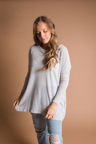 Perry Top - Grey