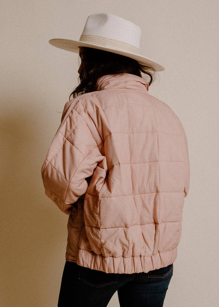 Phoebe Jacket - Rose