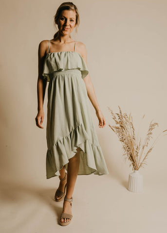 Presley Cami Dress - Mint