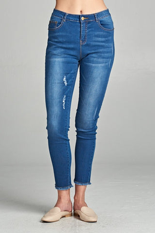 Clover High-Rise Denim