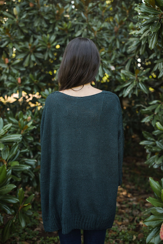 Raine Sweater - Emerald
