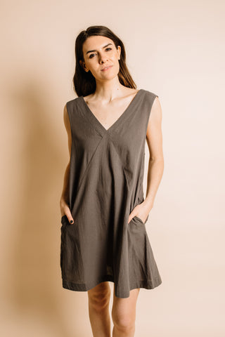 Ramsey Dress - Charcoal