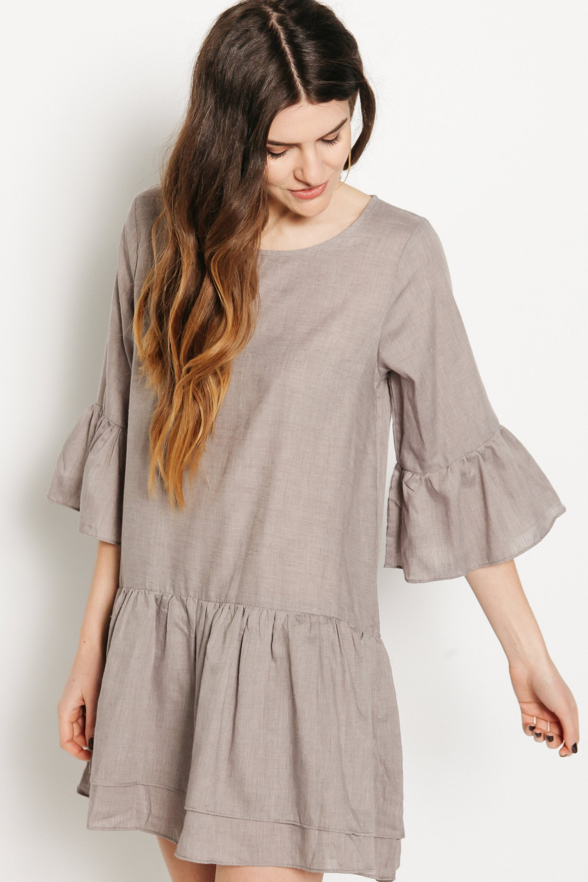 Raynie Dress - Grey