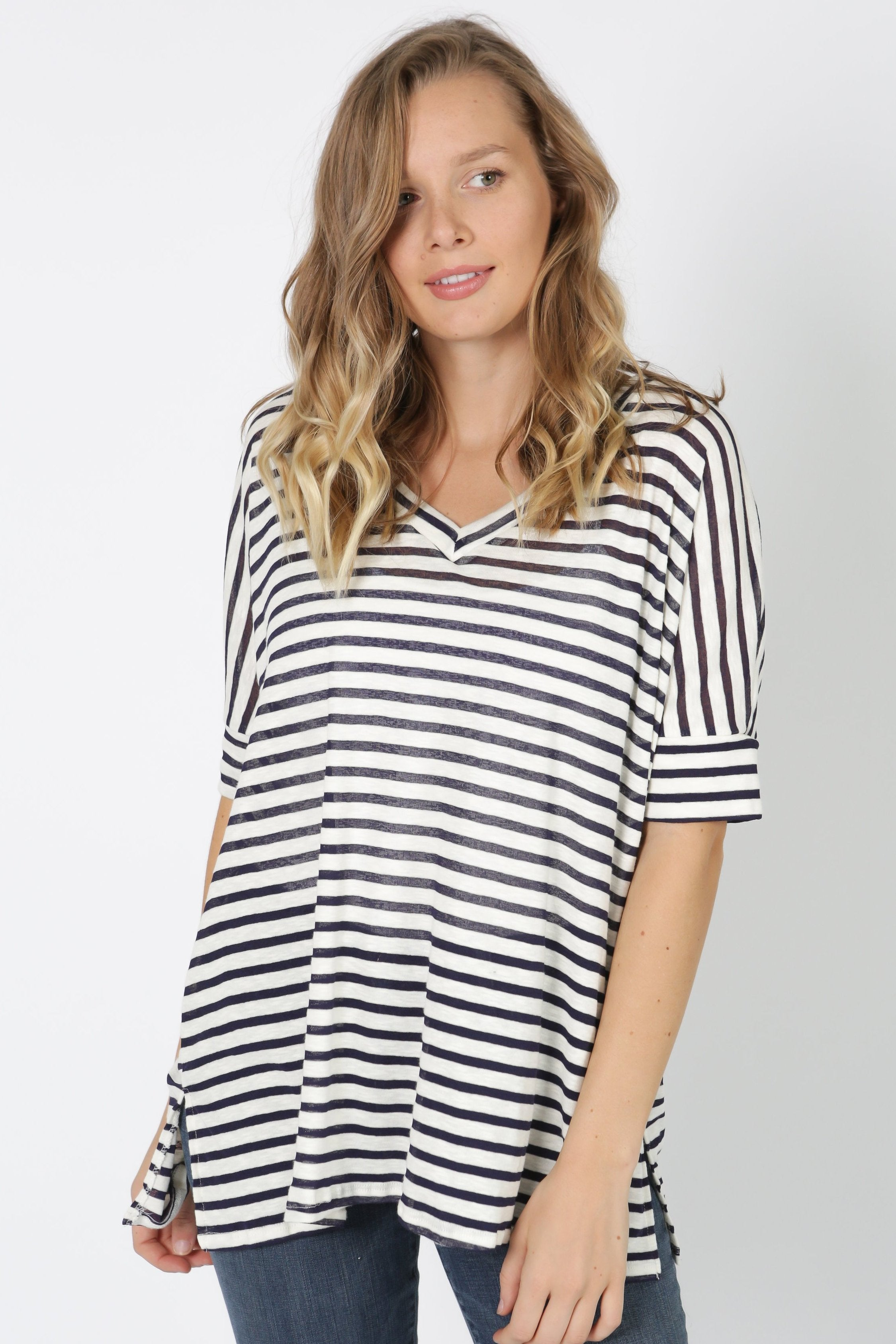 Renee Striped Tee