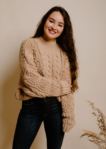 Rhea Sweater - Camel