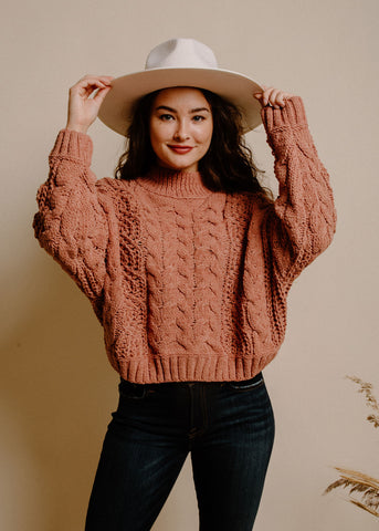 Rhea Sweater - Clay