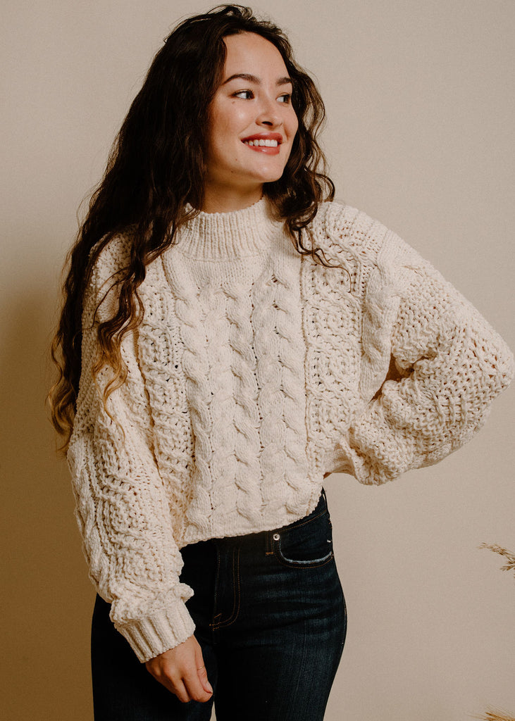 Rhea Sweater - Cream