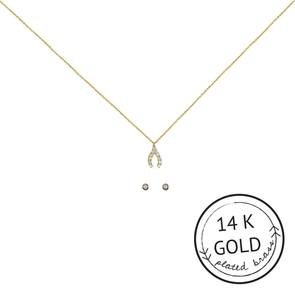 Make A Wish Necklace & Earring Set