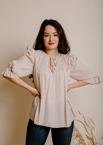 Samantha Blouse - Bone