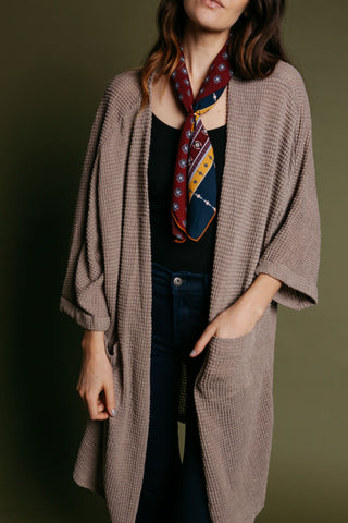 Savannah Cardigan - Latte