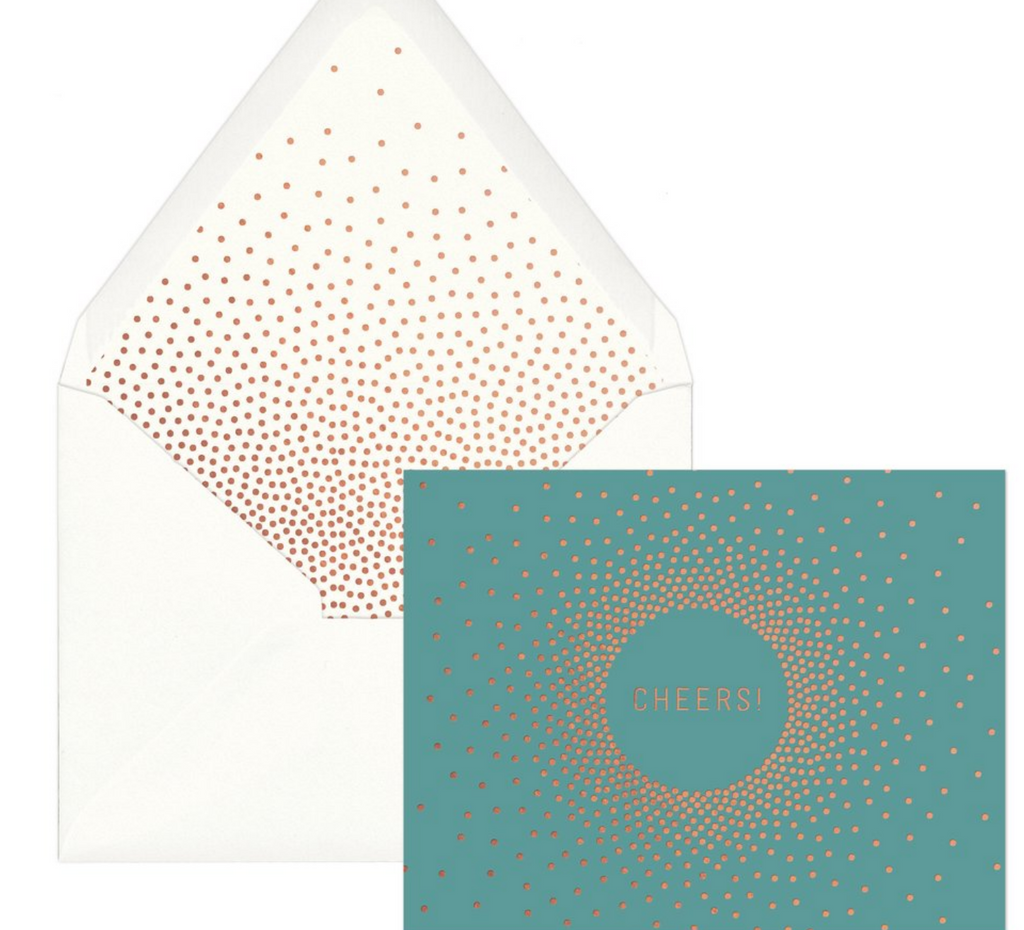 POS Radiate Cheers Note Cards  - Vinnie Louise