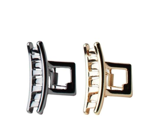 Mini Bar Clips Set Gold/Hematite