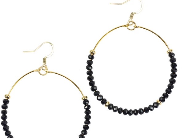 Chloe Earrings - Black