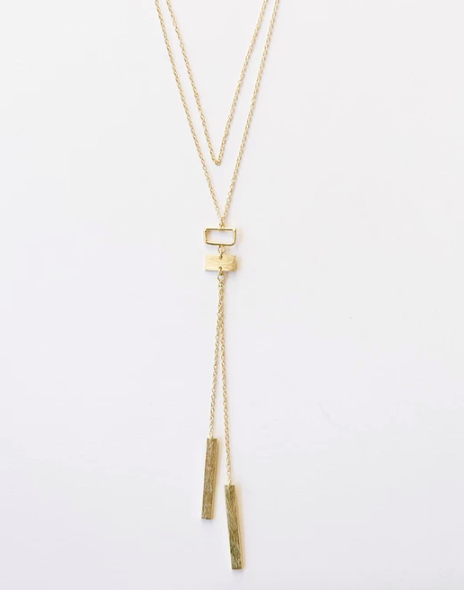 Bolo Necklace - Gold