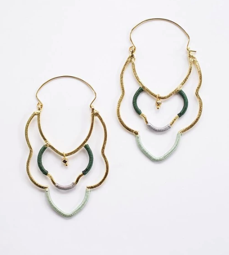 Casablanca Earrings - Gold