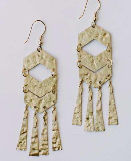 Souk Fringe Earrings