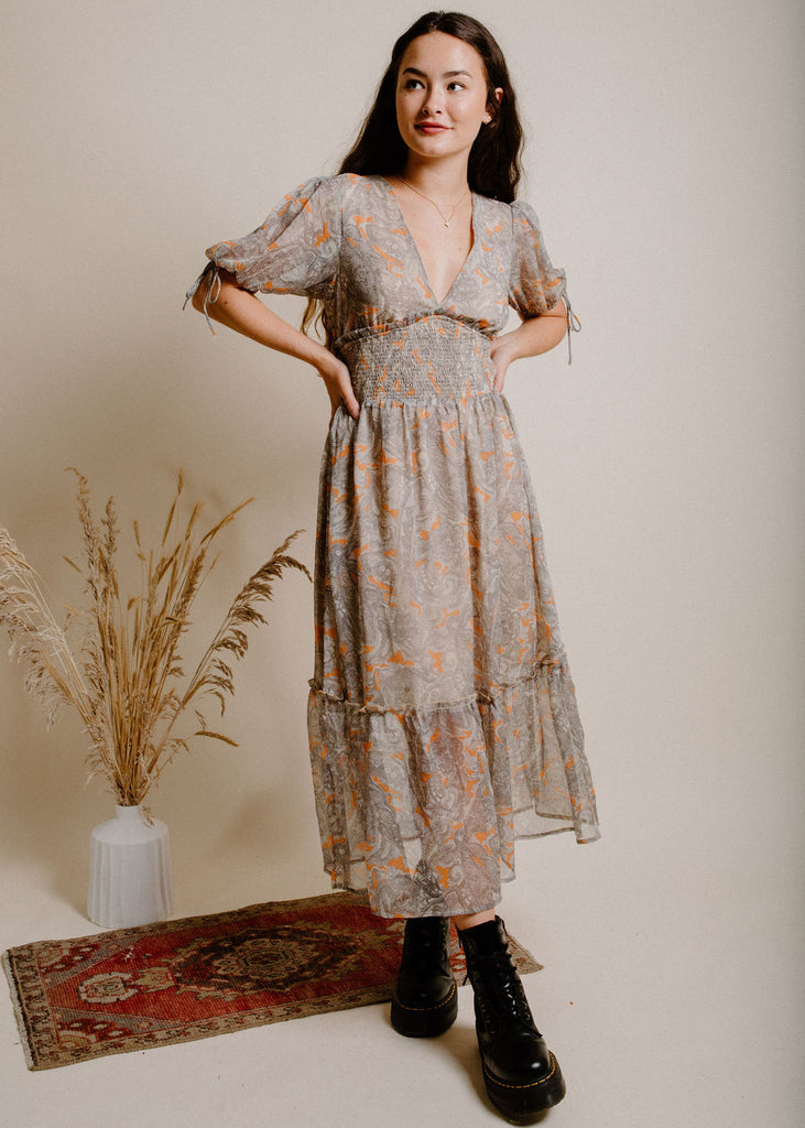 Seasons Change Midi Dress