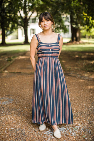 Selma Dress - Navy