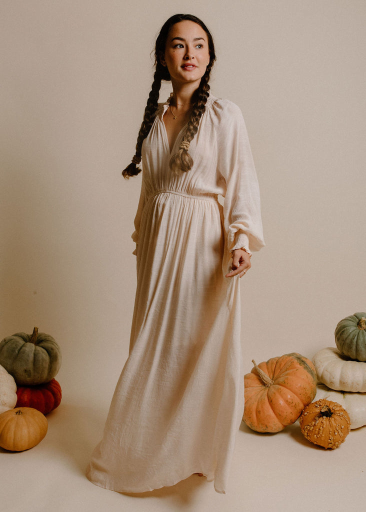 Sezanna Maxi Dress - Natural