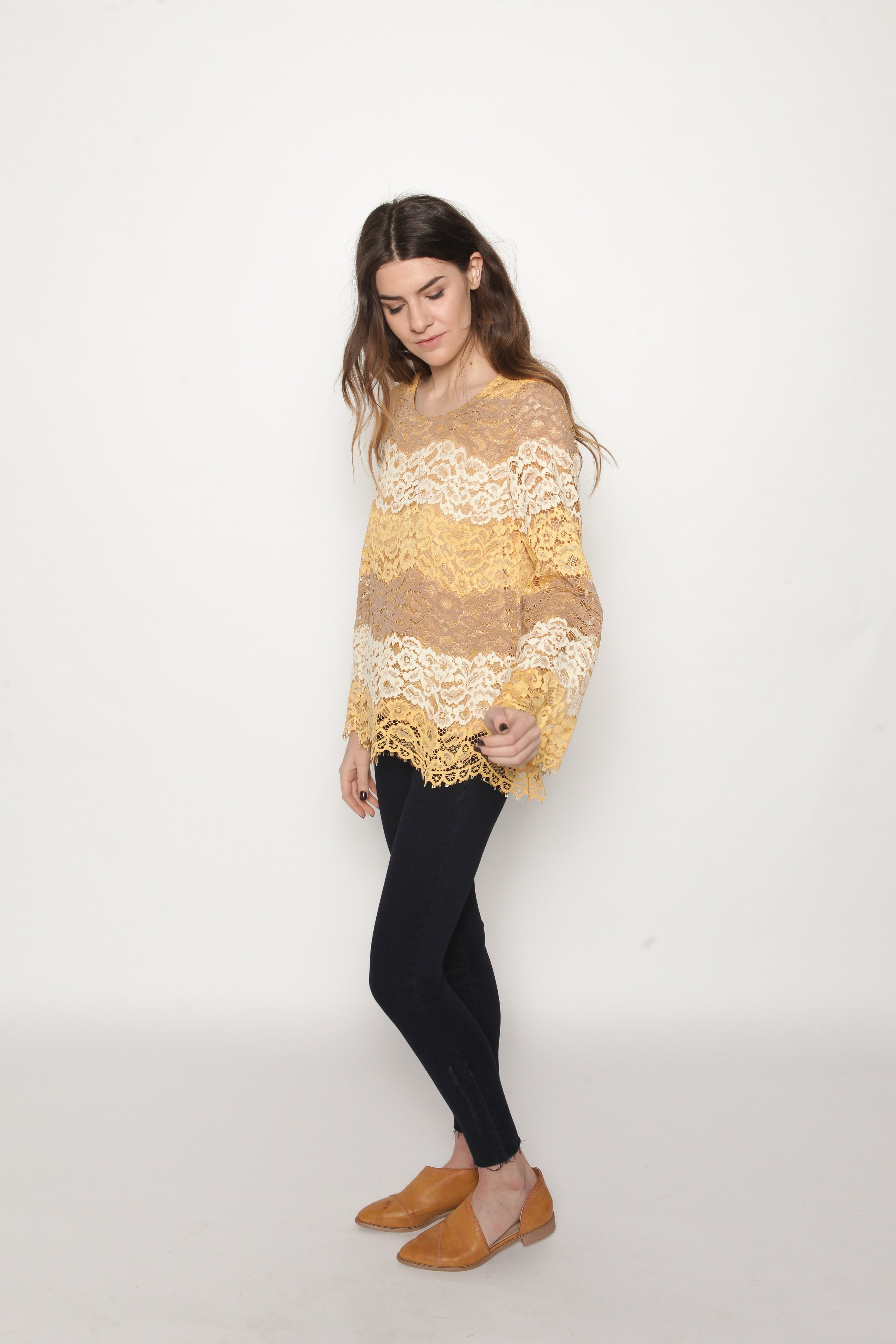 POS Shannon Lace Top Top - Vinnie Louise
