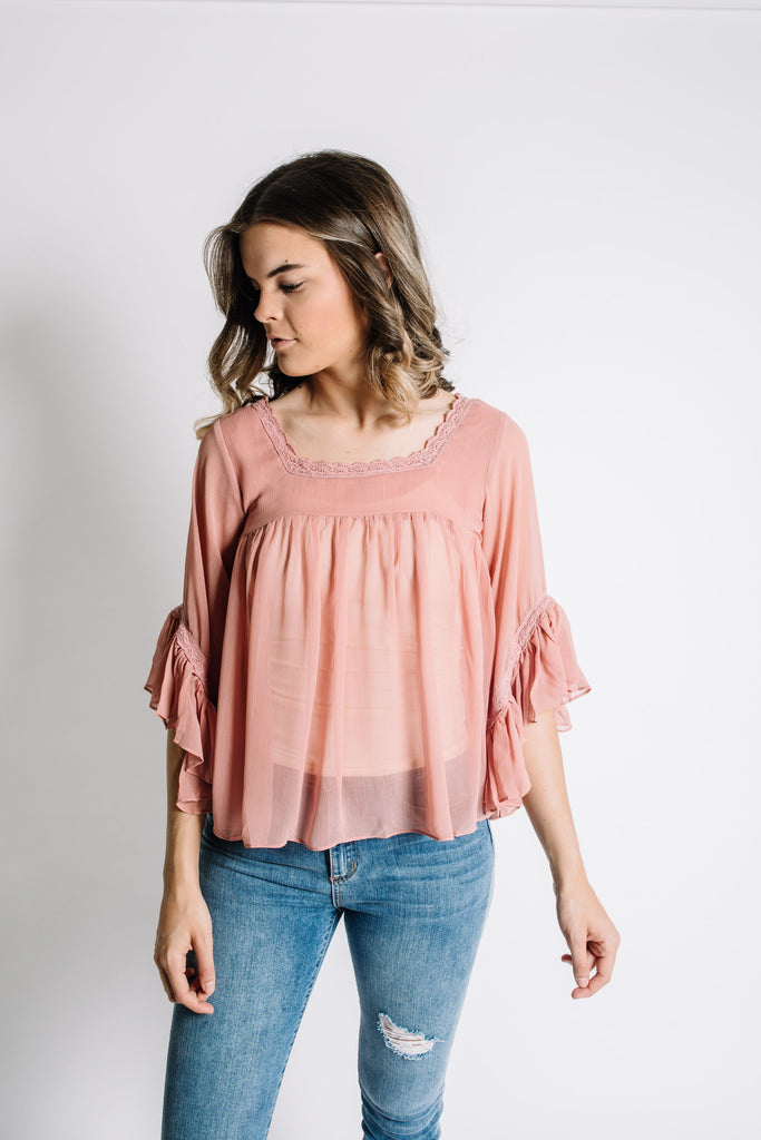 Shay Top - Blush