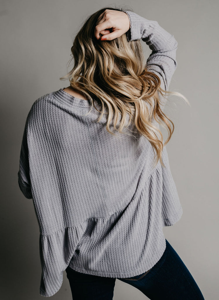 Sheridan Top - Grey