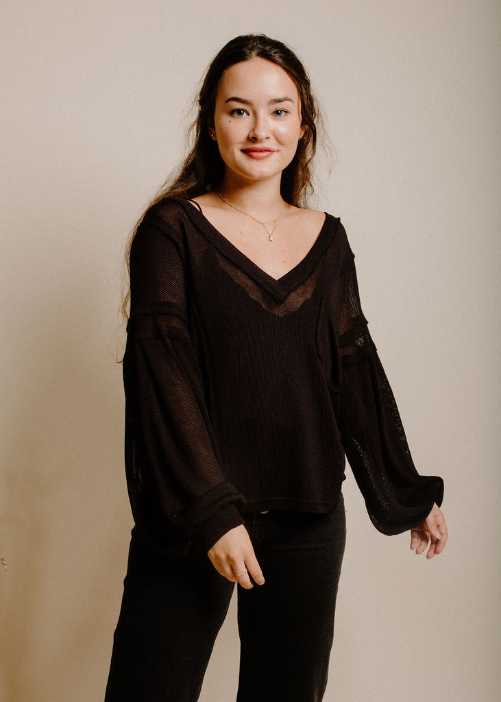 Shiloh Top - Black