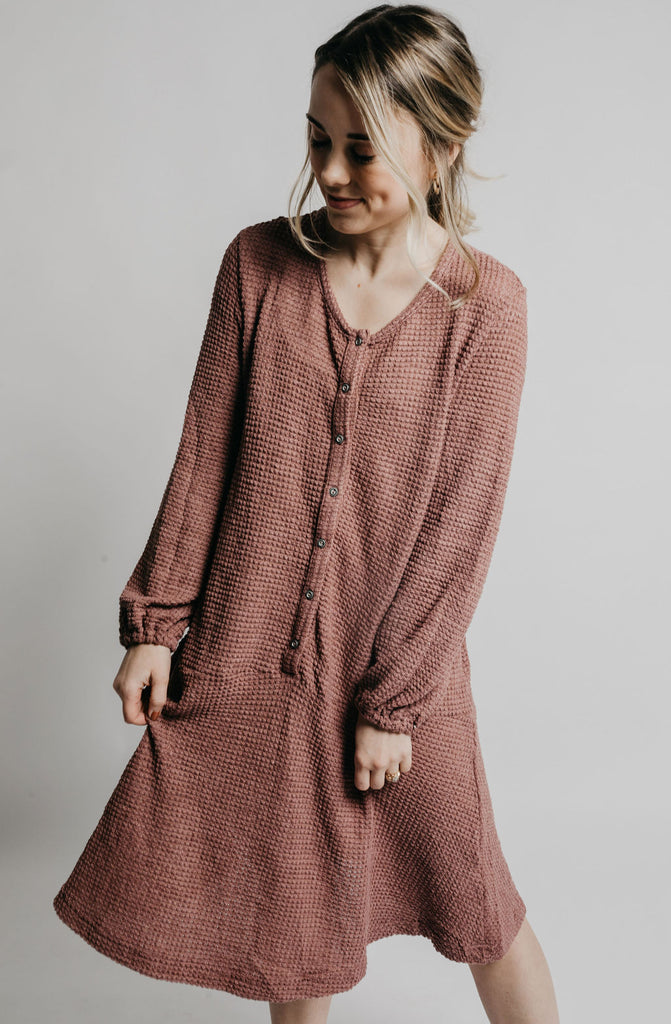 Starling Dress - Mauve