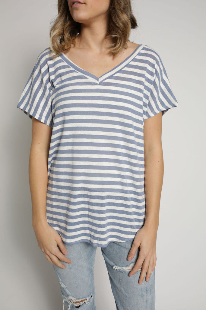 Sutton Top - Blue