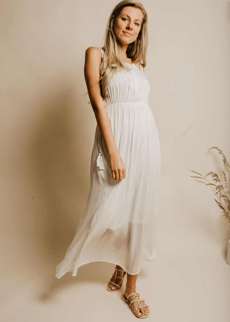 Sway This Way Dress - Ivory