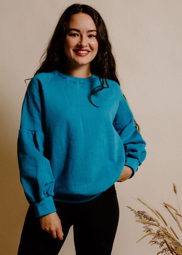 Tara Sweater - Teal