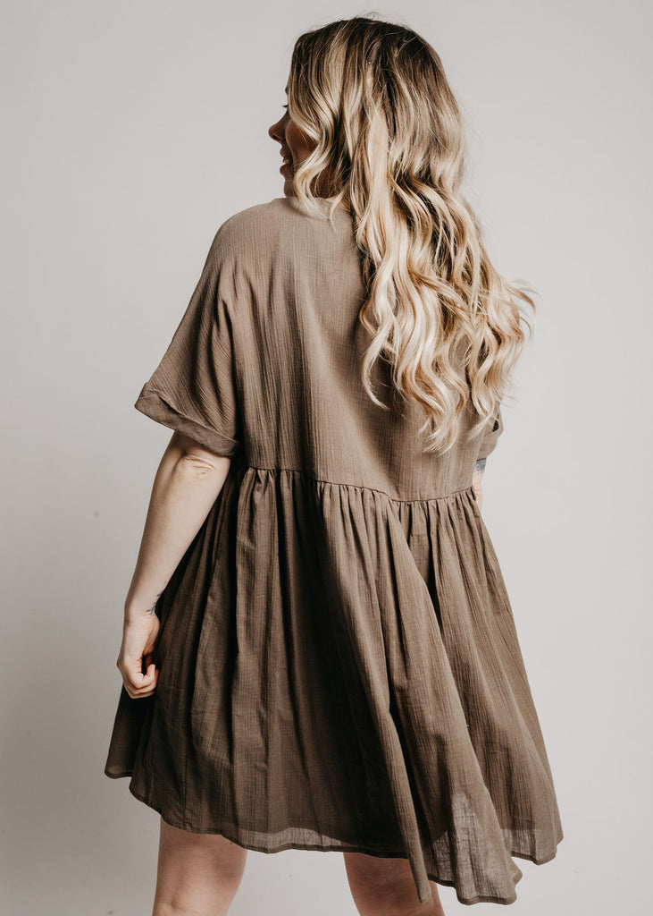 Tenley Dress - Olive