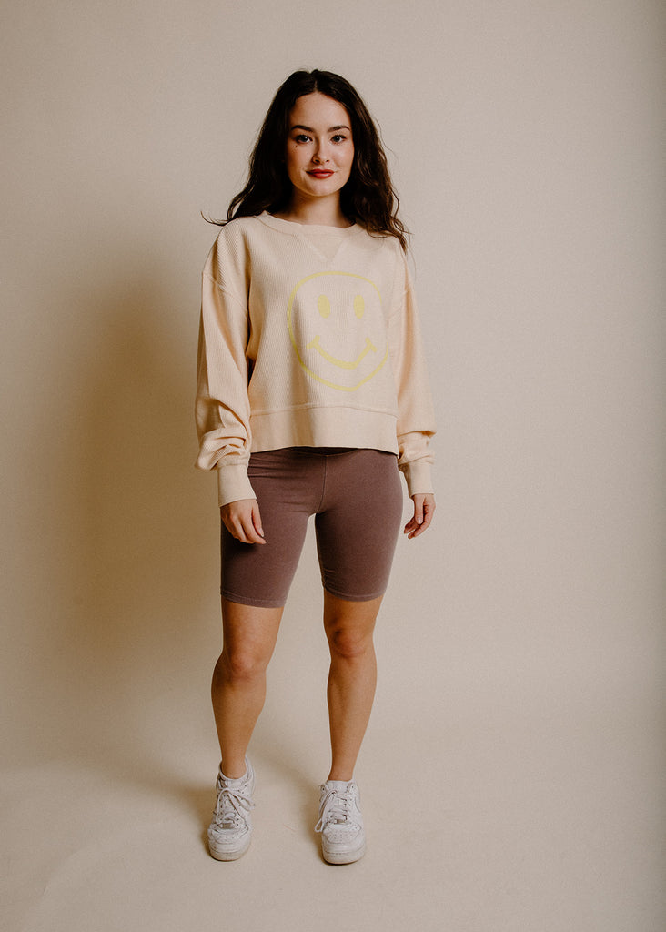 Terry Biker Shorts -Dusty Lilac