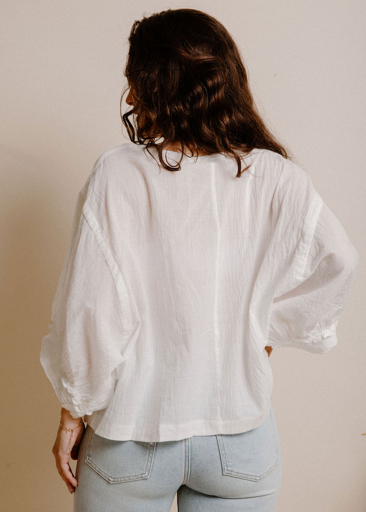 Themla Blouse - White