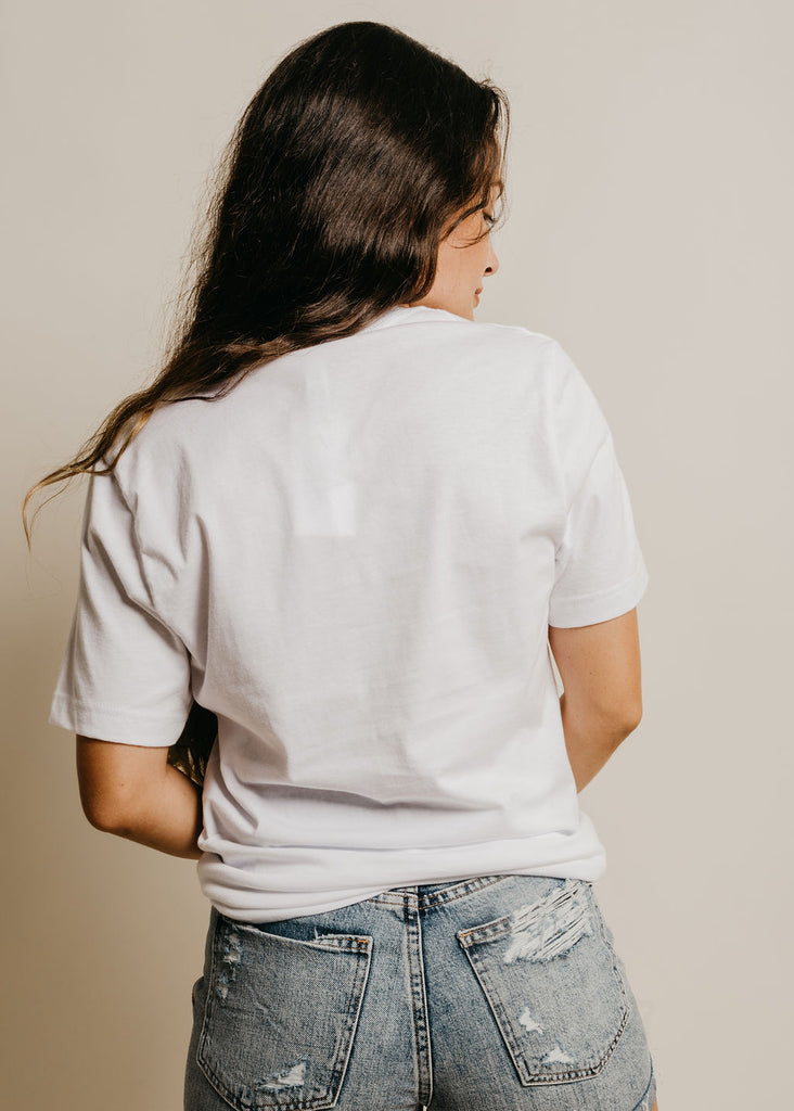 Treat People With Kindness Tee - White