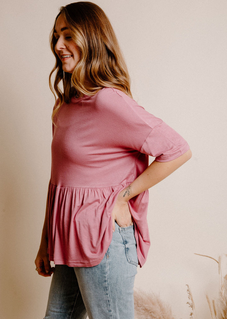 Tully Top - Rose