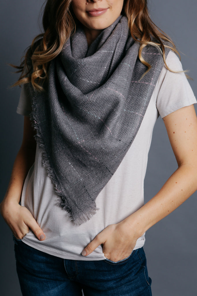 Johnson Scarf - Grey