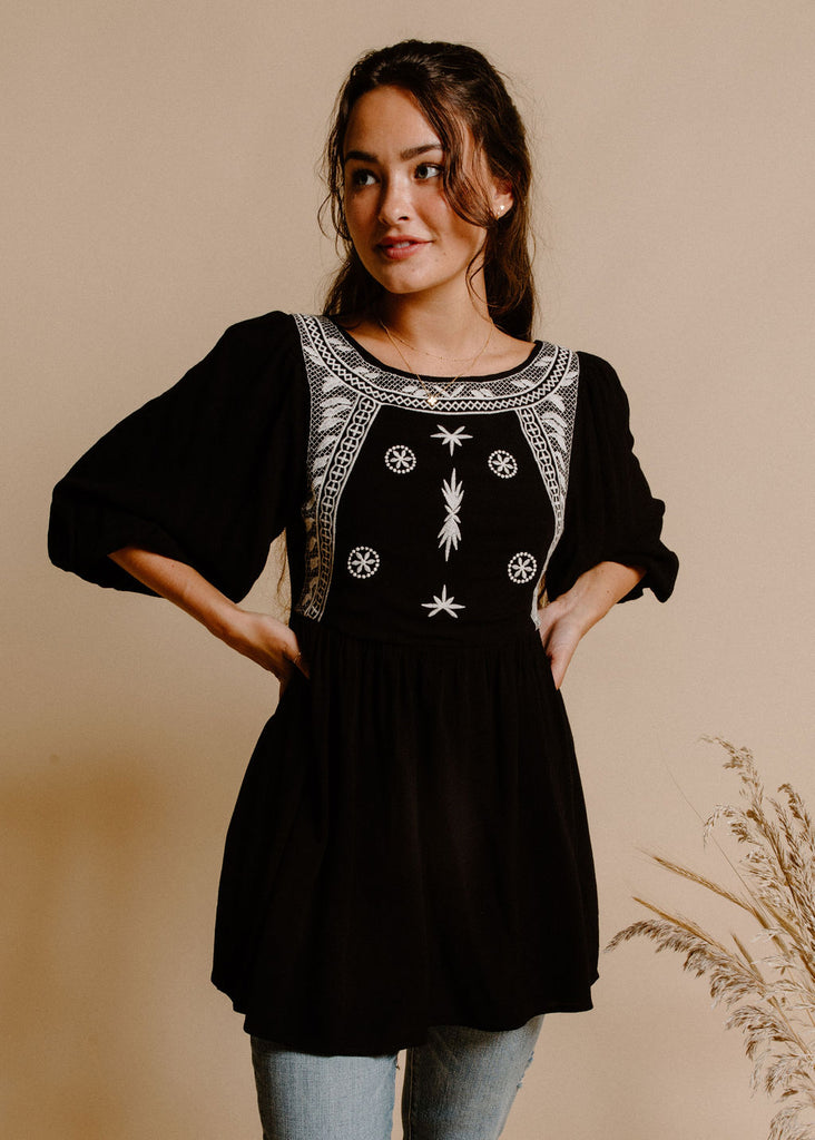 Valley Tunic - Black