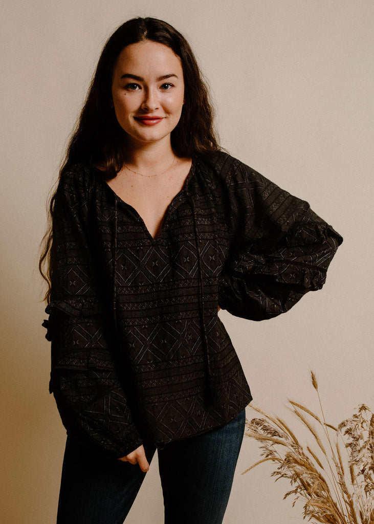 Vance Blouse - Black