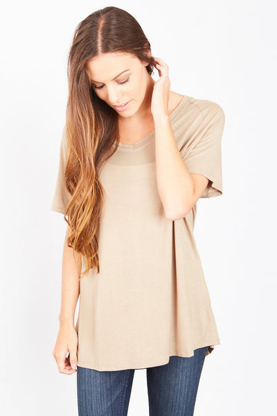 Tristan Top - Taupe