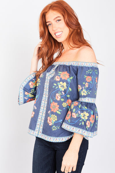 Isabella Floral Top