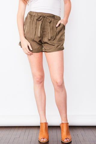 Ellie Shorts - Olive