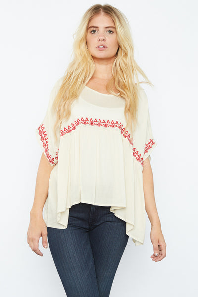 Kacky Embroidered Top