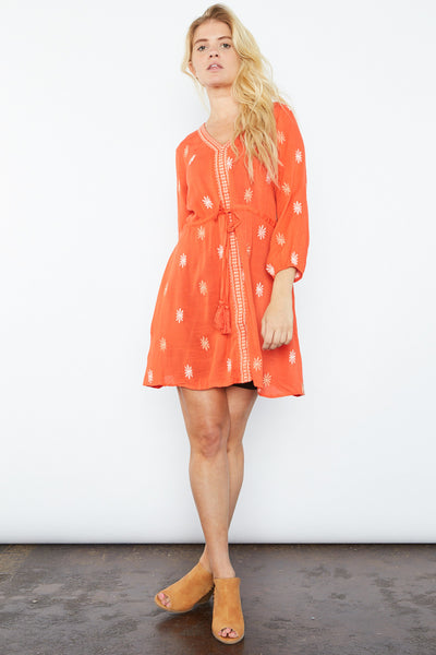 Georgie Embroidered Dress