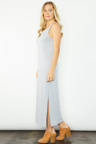 Cat Maxi Dress - Grey