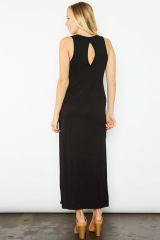 Cat Maxi Dress - Black
