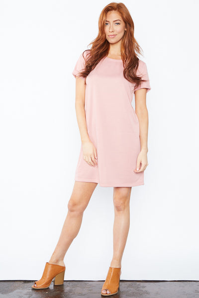 Emma Dress - Mauve