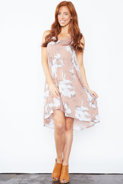 Meg Dress - Mauve