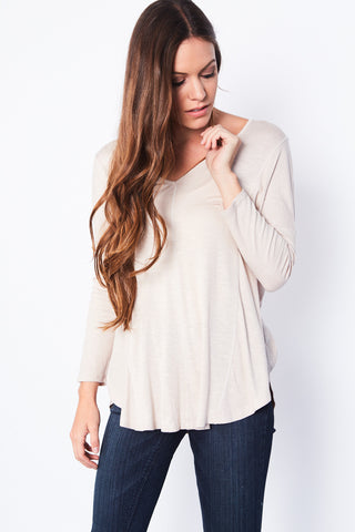 Ansen Top - Taupe