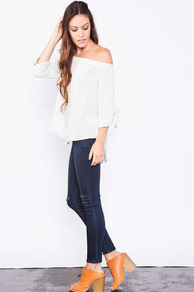 Mandi Off-The-Shoulder Top